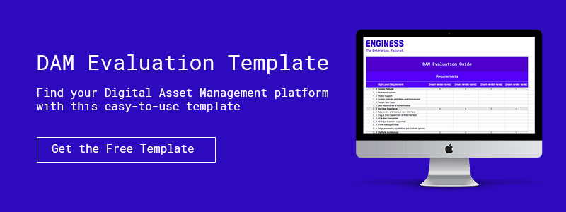 Call-to-action DAM Evaluation Template