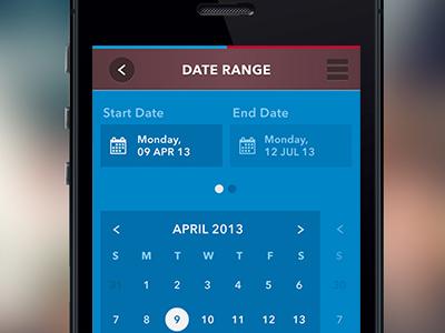 Mobile Date Picker